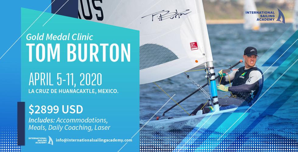 Tom Burton Clinic Laser Sailing